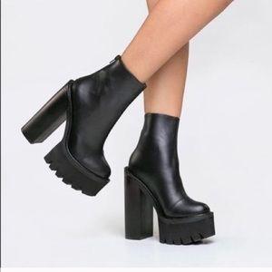 Jeffrey Campbell Mulder Platform Boots